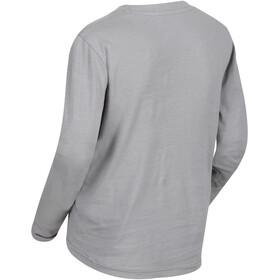 Regatta Wendell Langarm Shirt Jungs rock grey